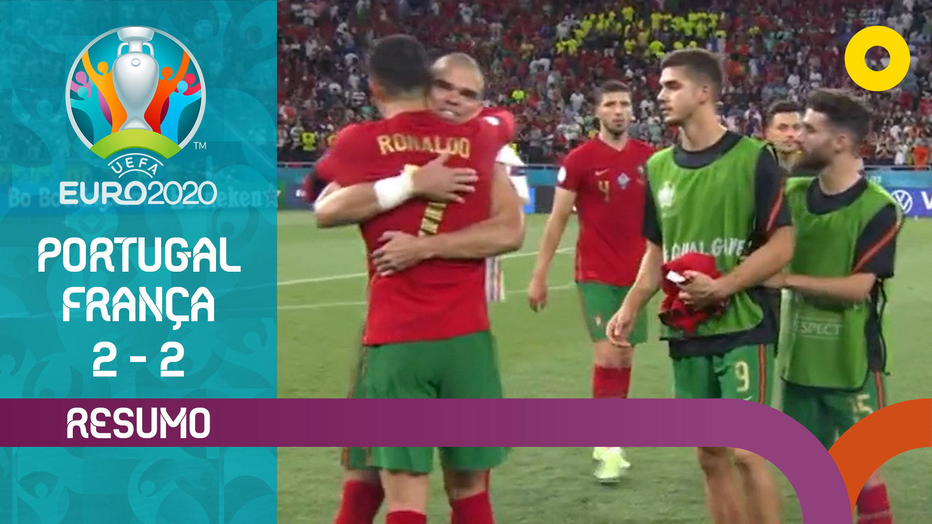 UEFA Euro (Fase de Grupos - Jornada 3): Resumo Por...