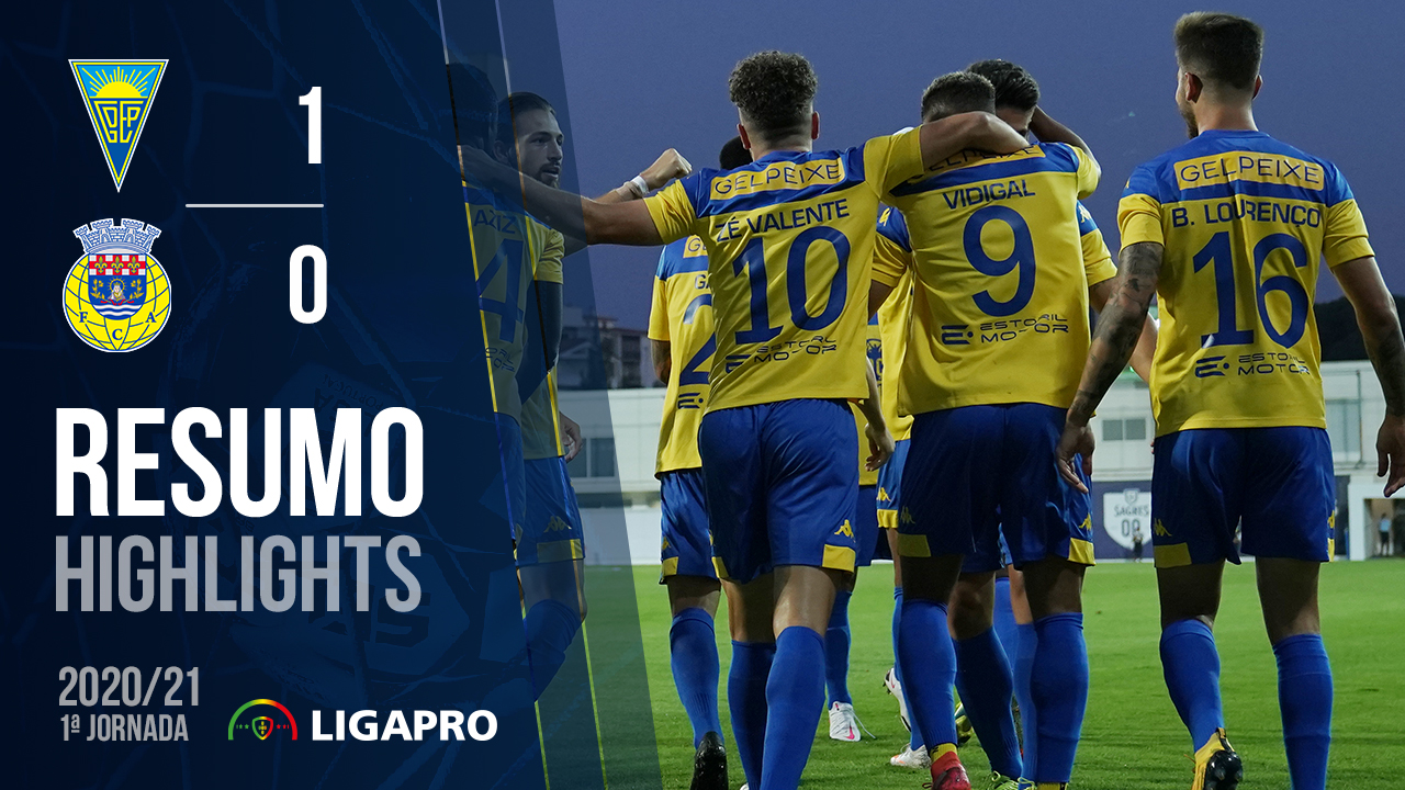 Liga SABSEG (1ª Jornada): Resumo Estoril Praia 1-0 FC Arouca