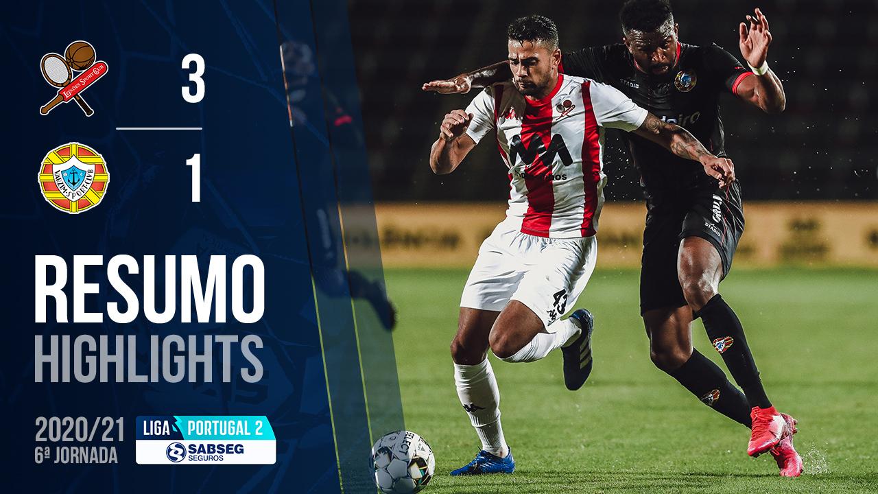 Liga SABSEG (6ª Jornada): Resumo Flash Leixões SC 3-1 Varzim SC