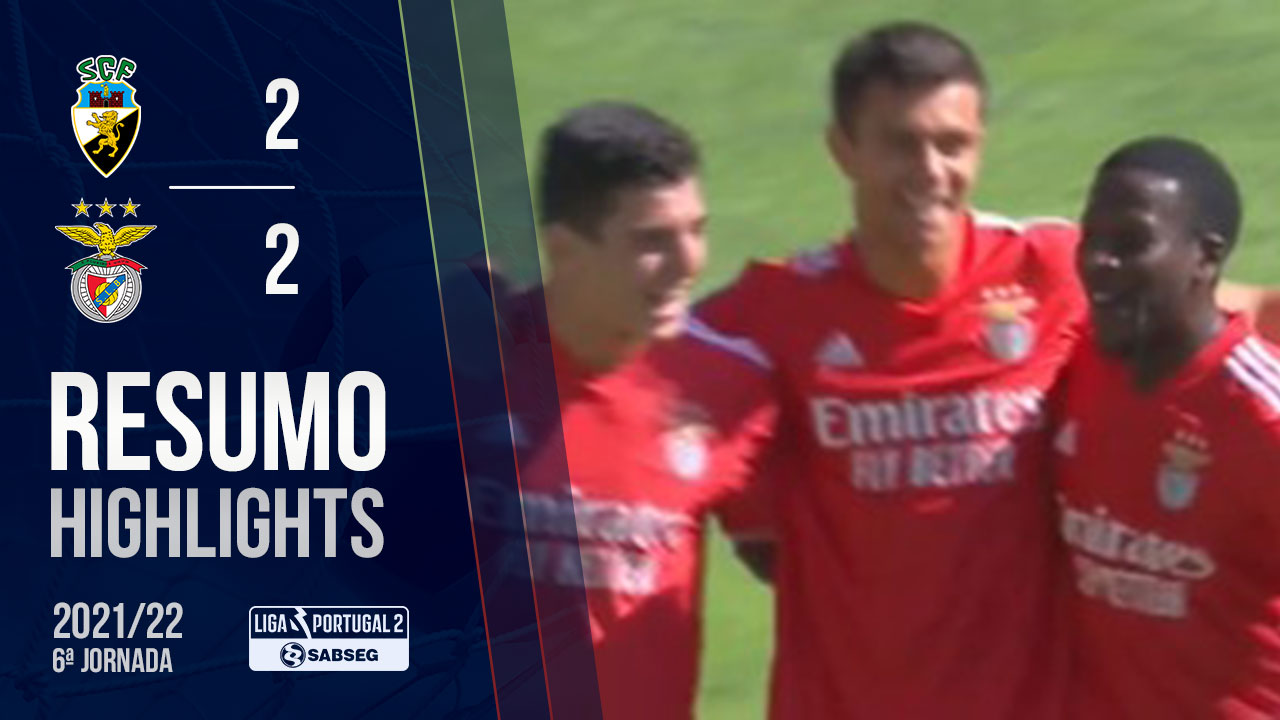 Liga Portugal SABSEG (6ª Jornada): Resumo SC Farense 2-2 SL Benfica B