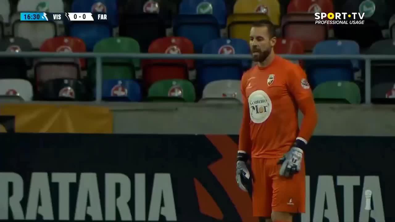 Liga Portugal SABSEG (5ª Jornada): Resumo Ac. Viseu 2-2 SC Farense
