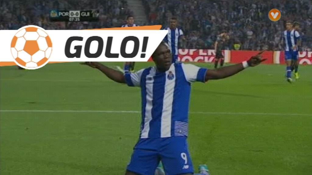 GOLO! FC Porto, Aboubakar aos 8', FC Porto 1-0 Vitória SC
