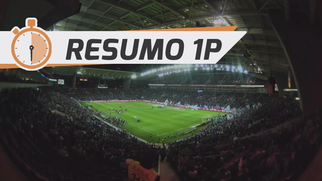 I Liga (8ªJ): Resumo FC Porto 0-0 SC Braga