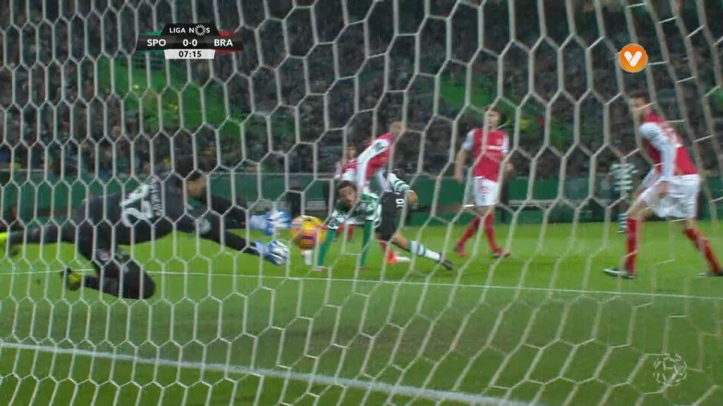 Sporting CP, Jogada, B. Ruiz aos 6'