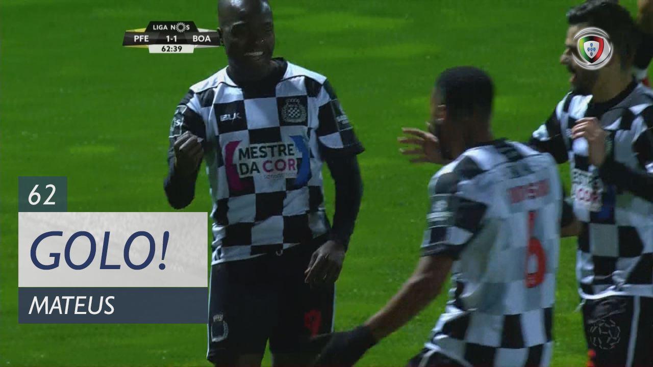 Boavista FC, Mateus aos 62', FC P.Ferreira 1-1 Boavista FC