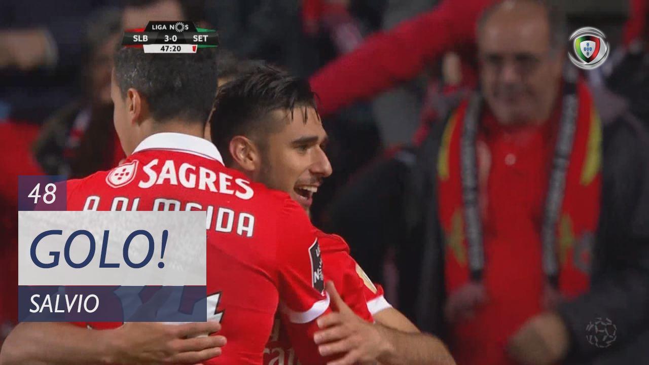 SL Benfica, Salvio aos 48', SL Benfica 3-0 Vitória FC