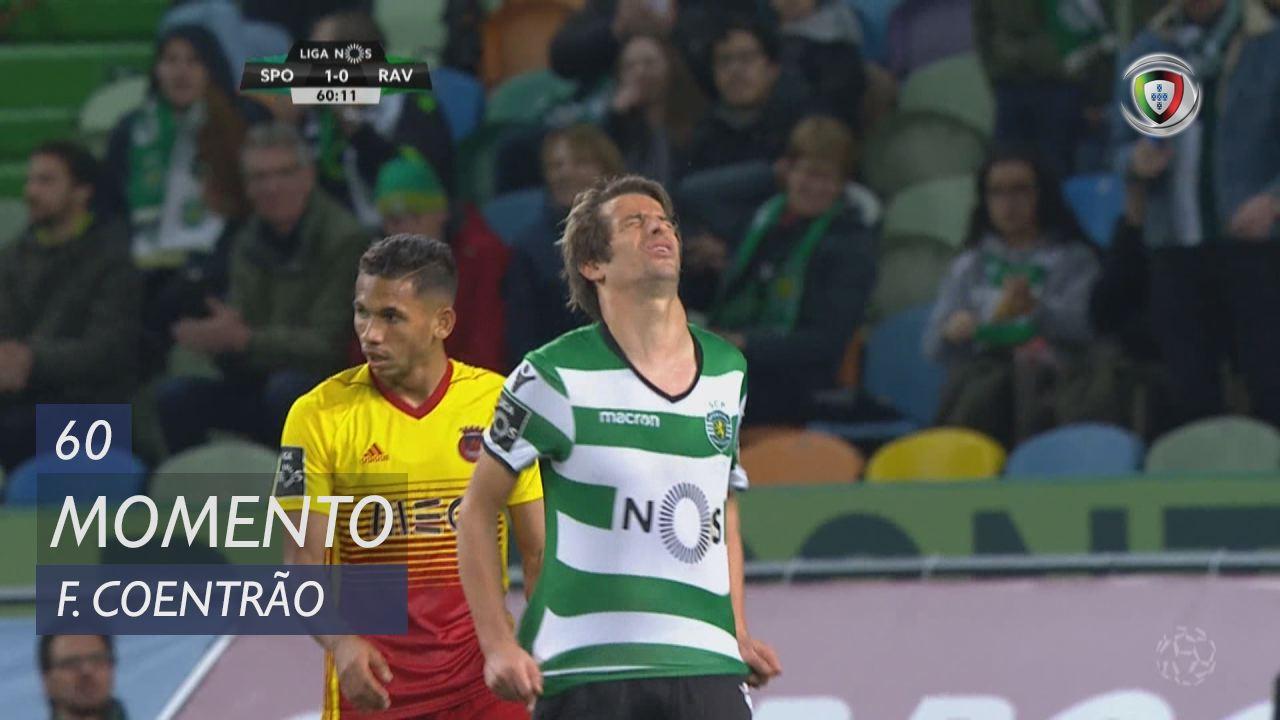 Sporting CP, Jogada, Fábio Coentrão aos 60'