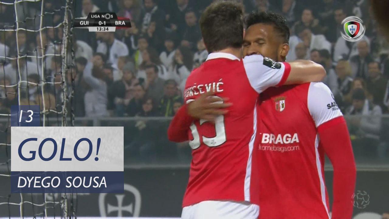SC Braga, Dyego Sousa aos 13', Vitória SC 0-1 SC Braga