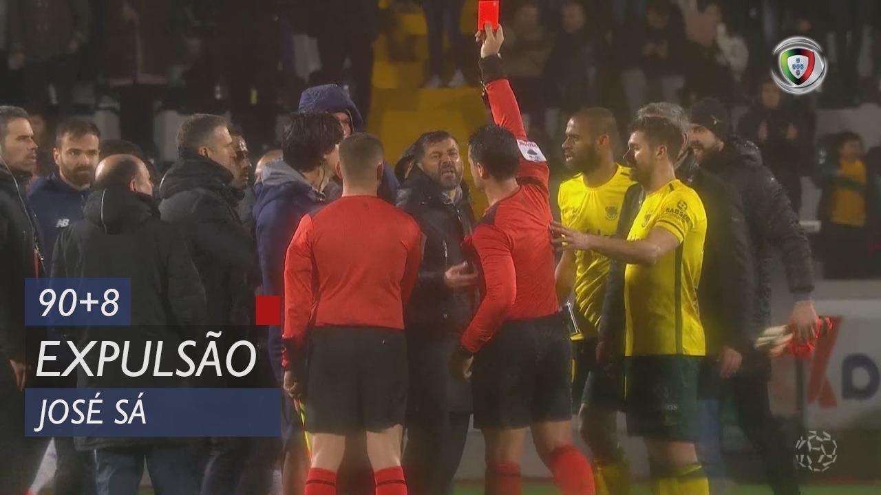 FC Porto, Expulsão, José Sá aos 90'+8'