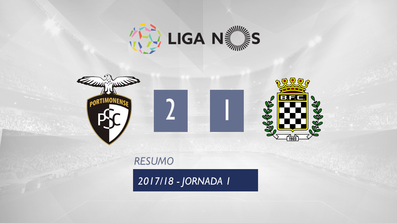 Portimonense Boavista goals and highlights