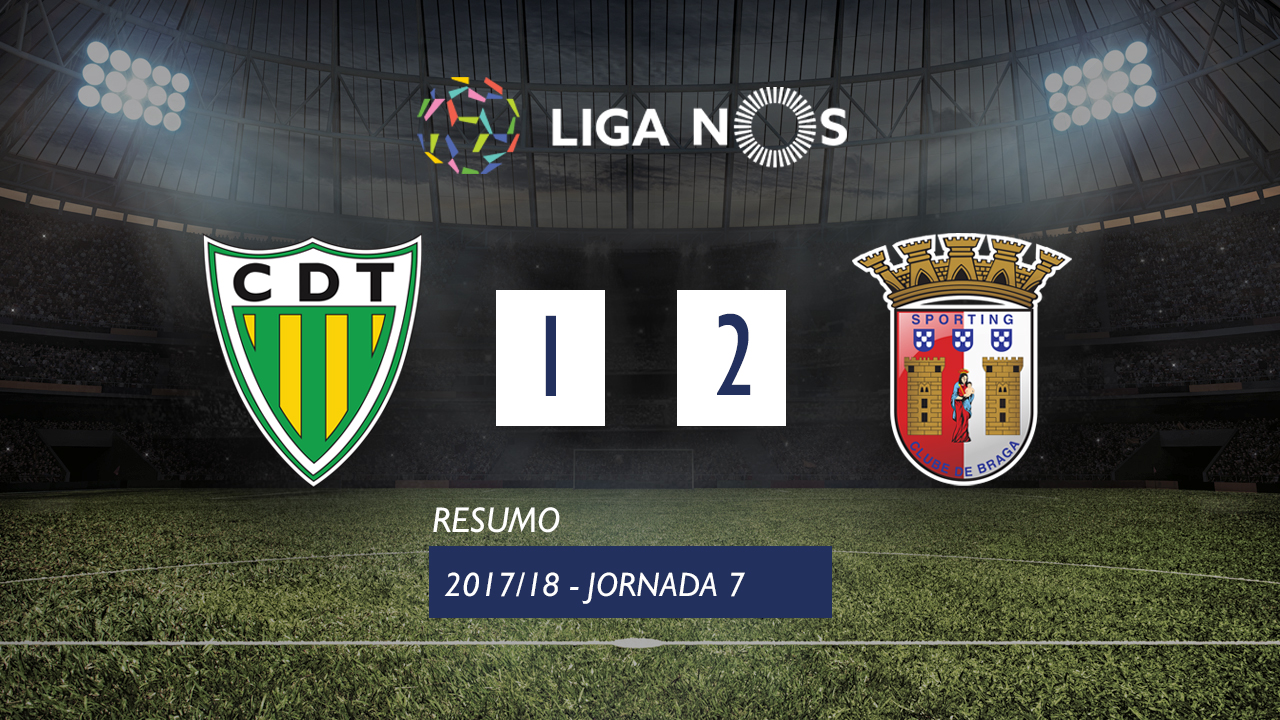 Tondela Braga goals and highlights