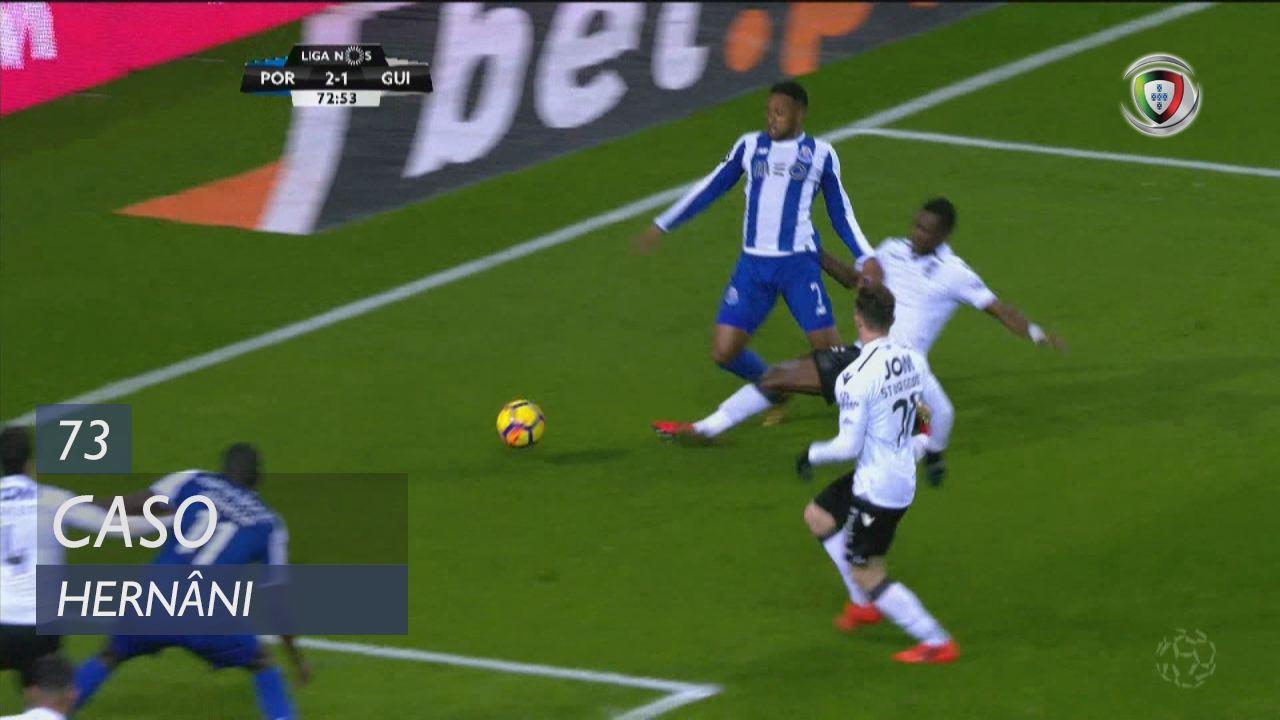 FC Porto, Caso, Hernâni aos 73'