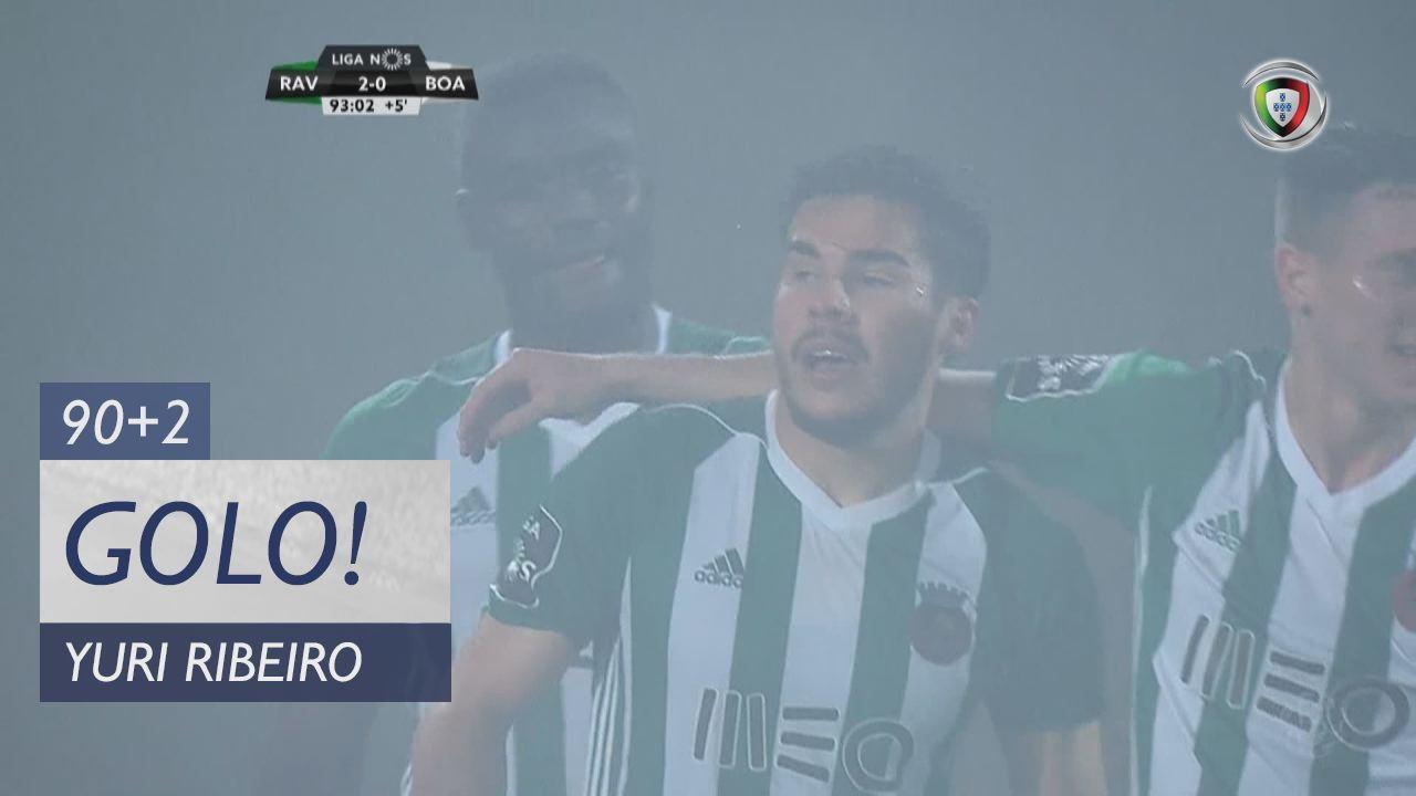 Rio Ave FC, Yuri Ribeiro aos 90'+2', Rio Ave FC 2-0 Boavista FC