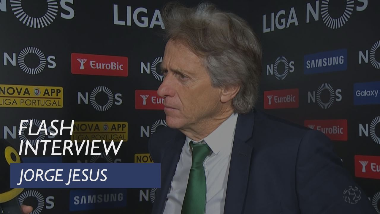 Liga (27ª): Flash interview Jorge Jesus