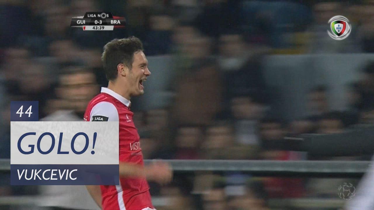 SC Braga, Vukcevic aos 44', Vitória SC 0-3 SC Braga