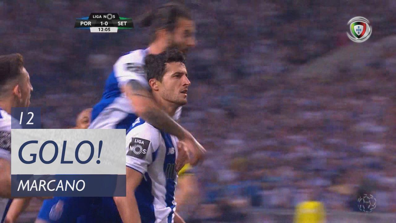 GOLO! FC Porto, Marcano aos 12', FC Porto 2-0 Vitória FC
