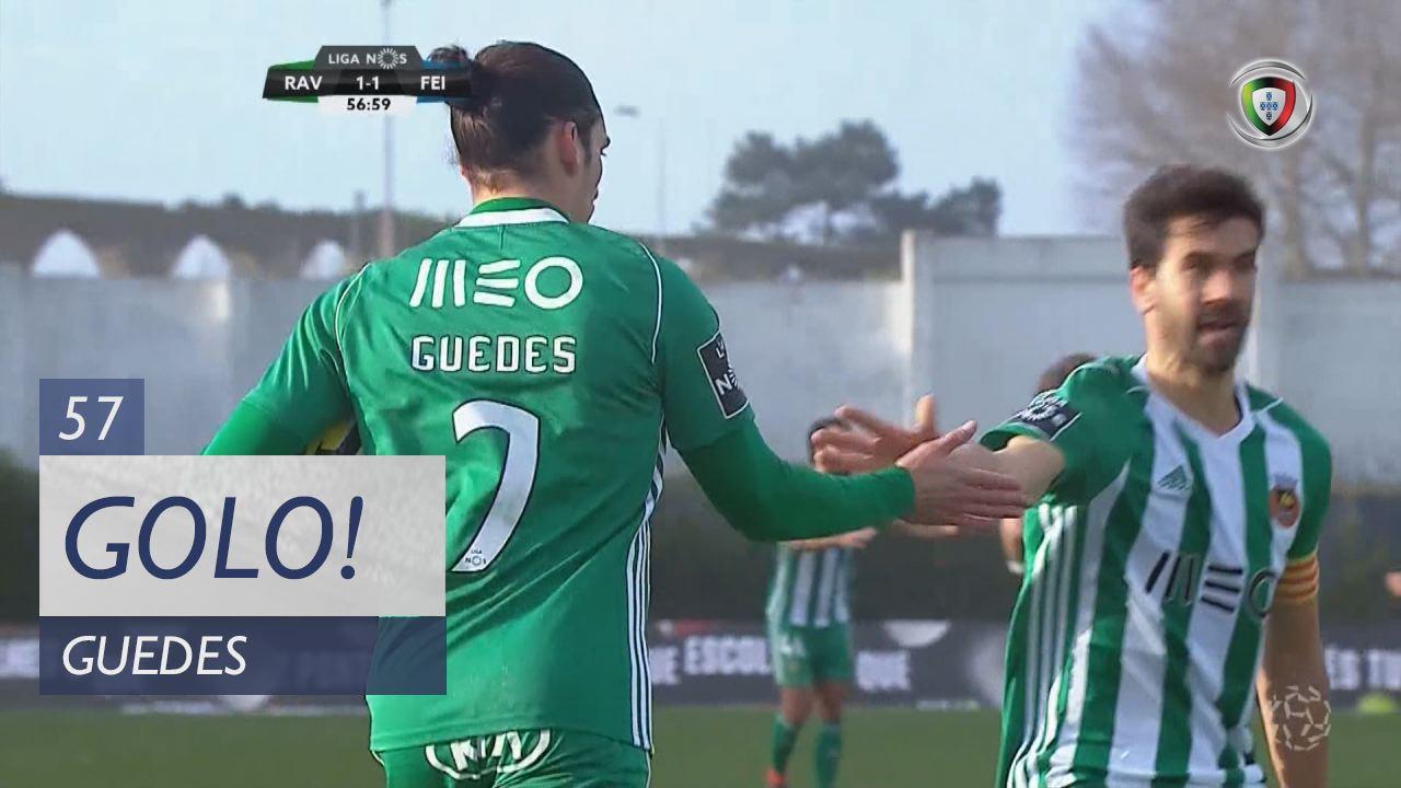 Rio Ave FC, Guedes aos 57', Rio Ave FC 1-1 CD Feirense