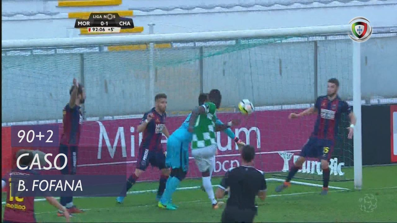 Moreirense FC, Caso, Boubacar Fofana aos 90'+2'