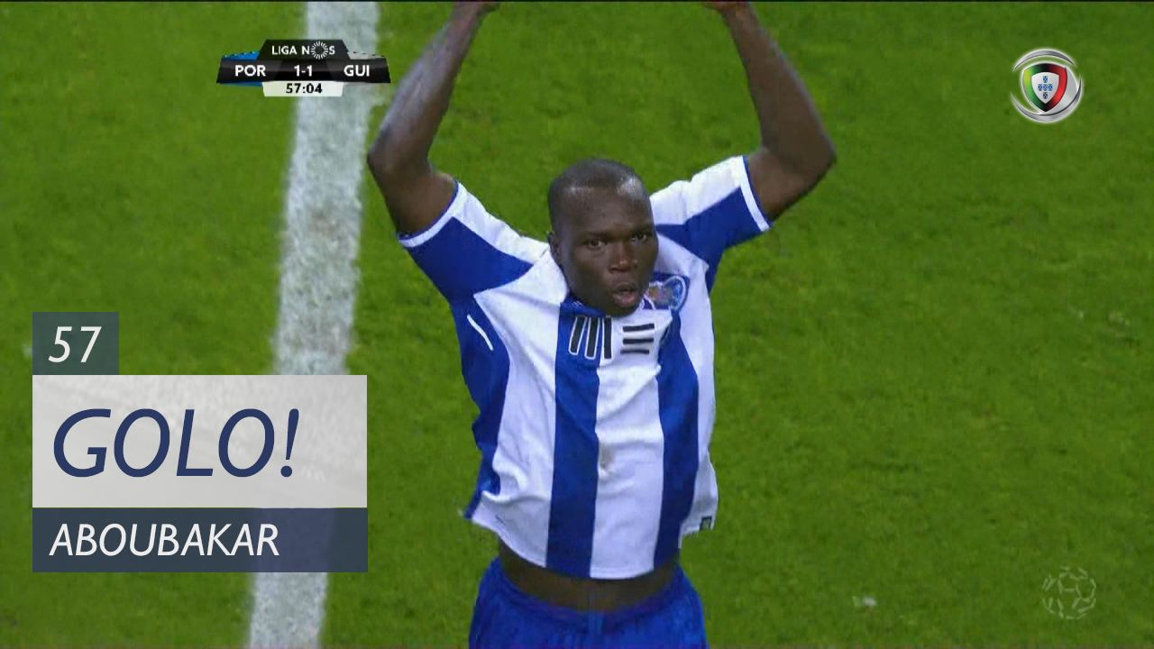 FC Porto, Aboubakar aos 57', FC Porto 1-1 Vitória SC