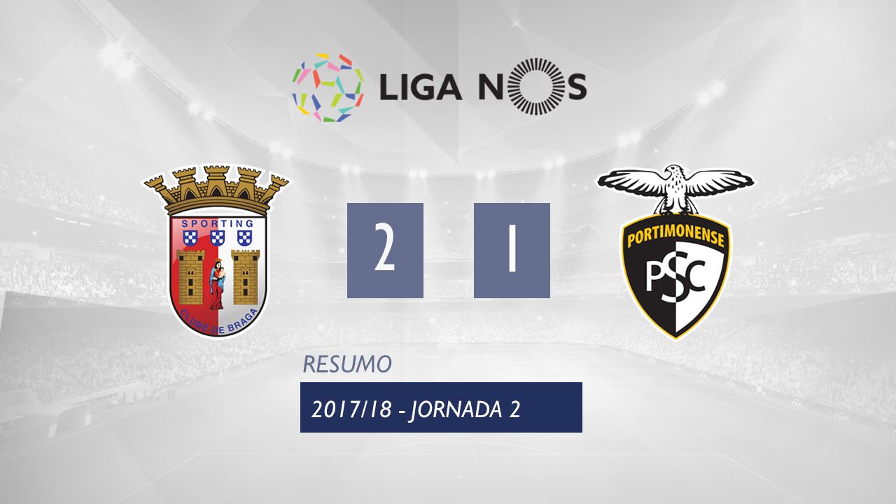 Braga Portimonense goals and highlights