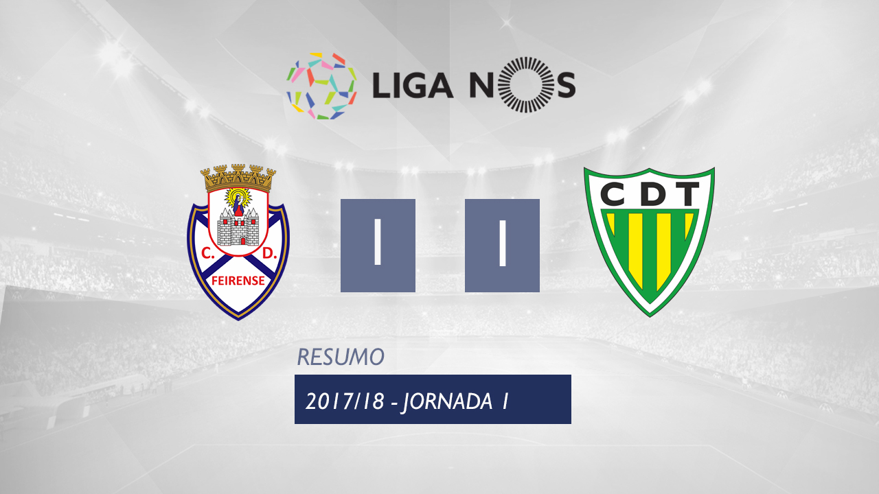 Feirense Tondela goals and highlights