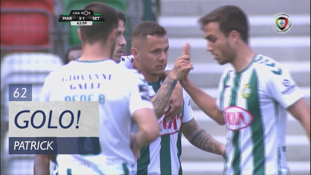 Vitória FC, Patrick aos 62', Marítimo M. 3-1 Vitória FC