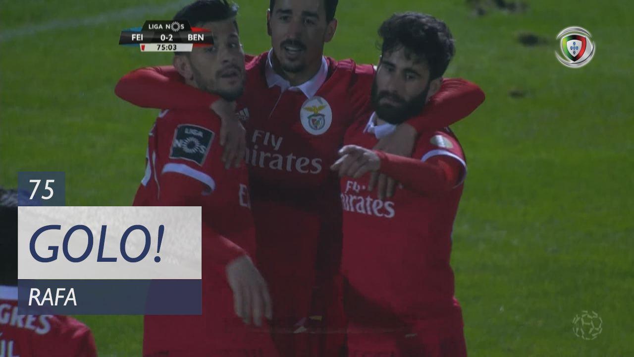 GOLO! SL Benfica, Rafa aos 75', CD Feirense 0-2 SL Benfica