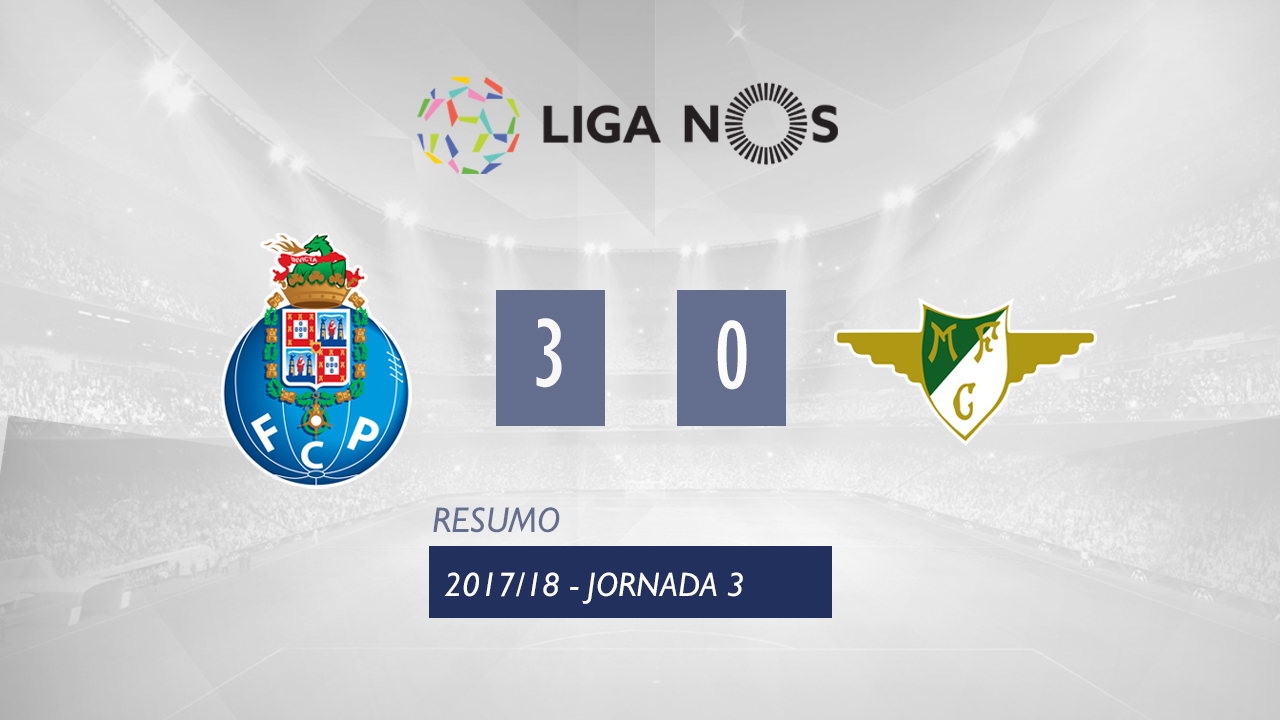 FC Porto Moreirense goals and highlights