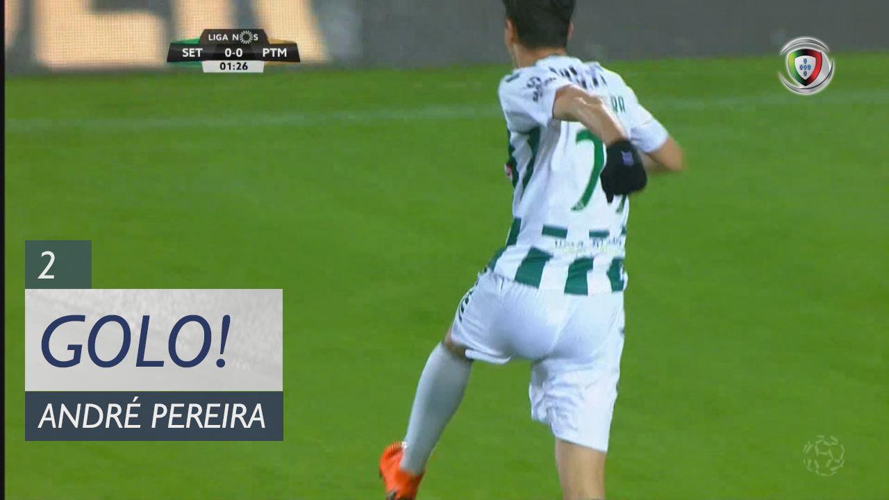GOLO! Vitória FC, André Pereira aos 2', Vitória FC 1-0 Portimonense