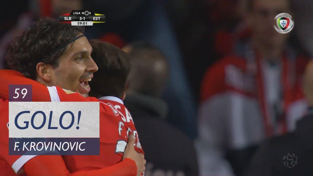 SL Benfica, F. Krovinovic aos 59', SL Benfica 3-1 Estoril Praia