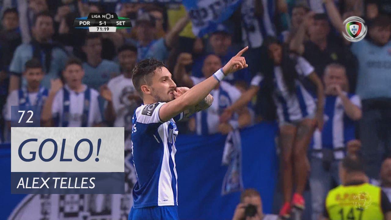 GOLO! FC Porto, Alex Telles aos 72', FC Porto 5-1 Vitória FC