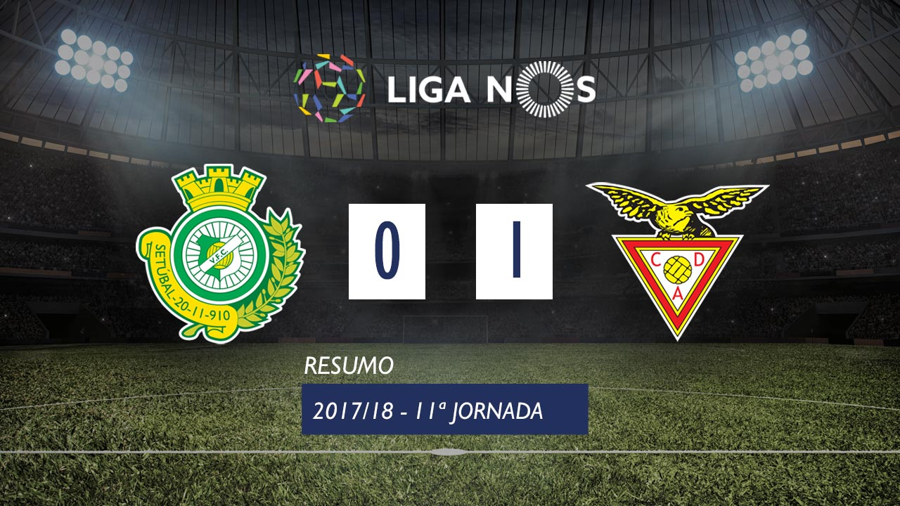 I Liga (11ªJ): Resumo Vitória FC 0-1 CD Aves