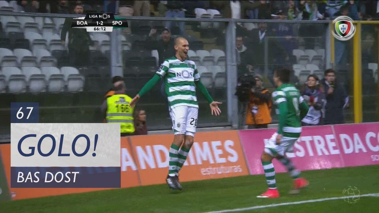 Sporting CP, Bas Dost aos 67', Boavista FC 1-3 Sporting CP