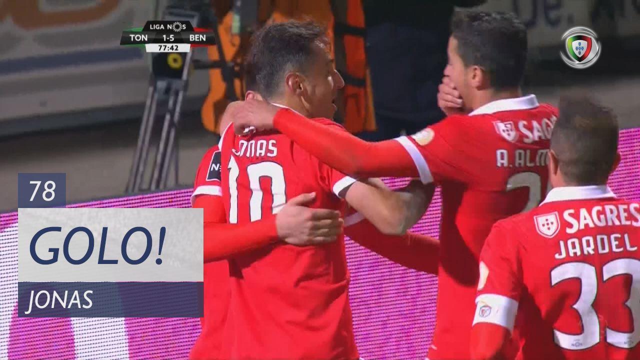 SL Benfica, Jonas aos 78', CD Tondela 1-5 SL Benfica