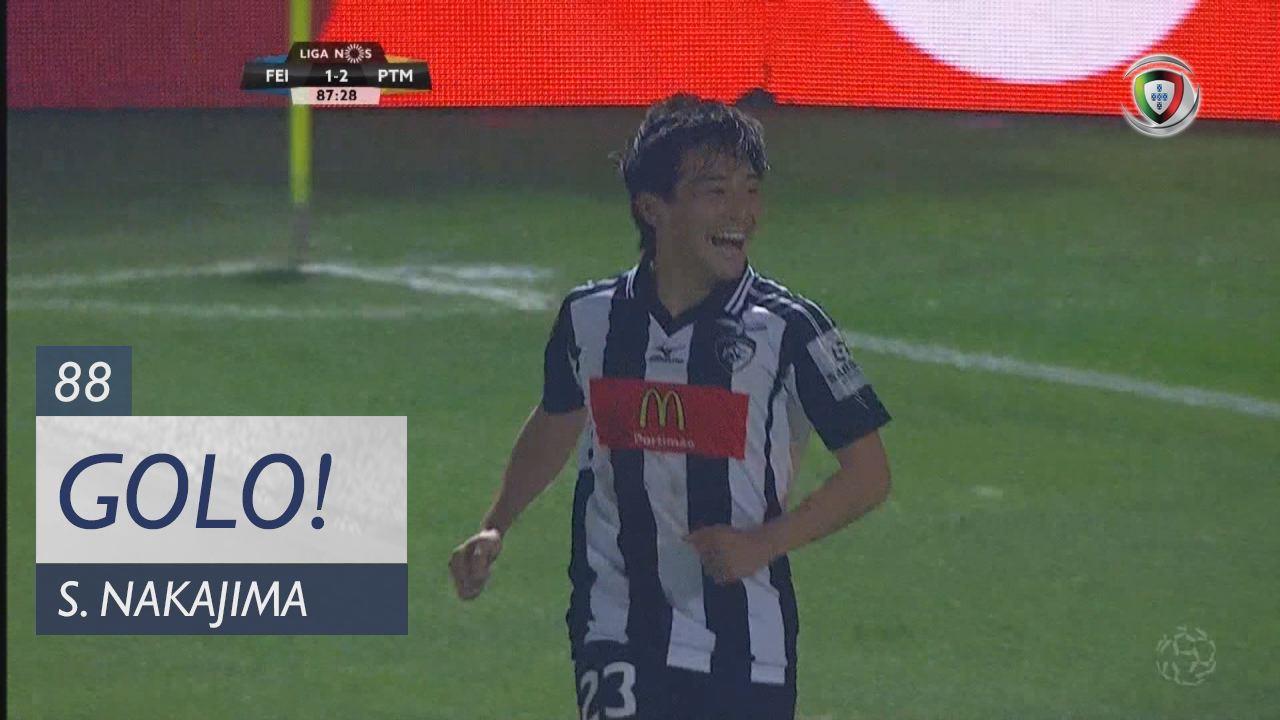 Portimonense, S. Nakajima aos 88', CD Feirense 1-3 Portimonense