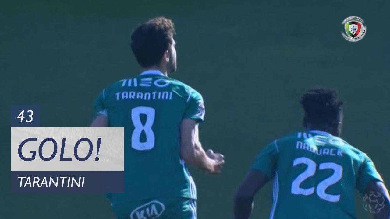 GOLO! Rio Ave FC, Tarantini aos 43', Rio Ave FC 1-0 SC Braga
