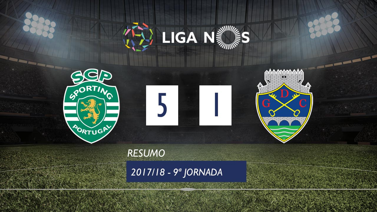 Sporting Lisbon Chaves goals and highlights