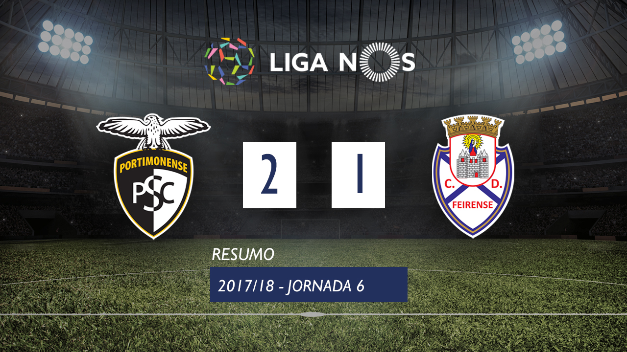 Portimonense Feirense goals and highlights