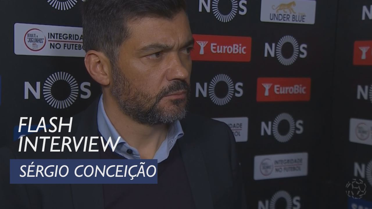 Liga (18ª): Flash interview Sérgio Conceição