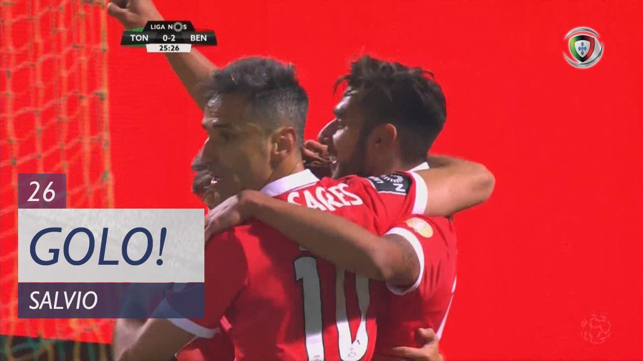 SL Benfica, Salvio aos 26', CD Tondela 0-2 SL Benfica