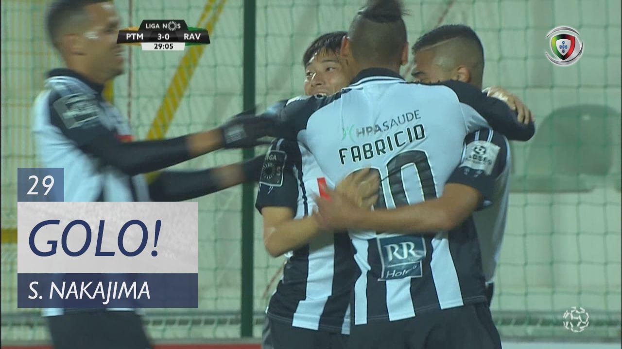Portimonense, S. Nakajima aos 29', Portimonense 3-0 Rio Ave FC