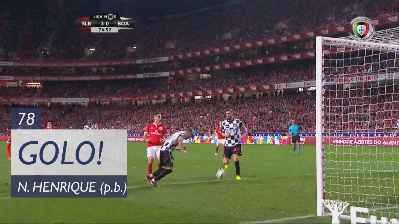 SL Benfica, Nuno Henrique aos 78', SL Benfica 3-0 Boavista FC