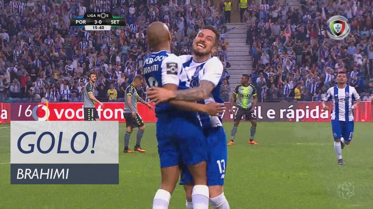 GOLO! FC Porto, Brahimi aos 16', FC Porto 3-0 Vitória FC