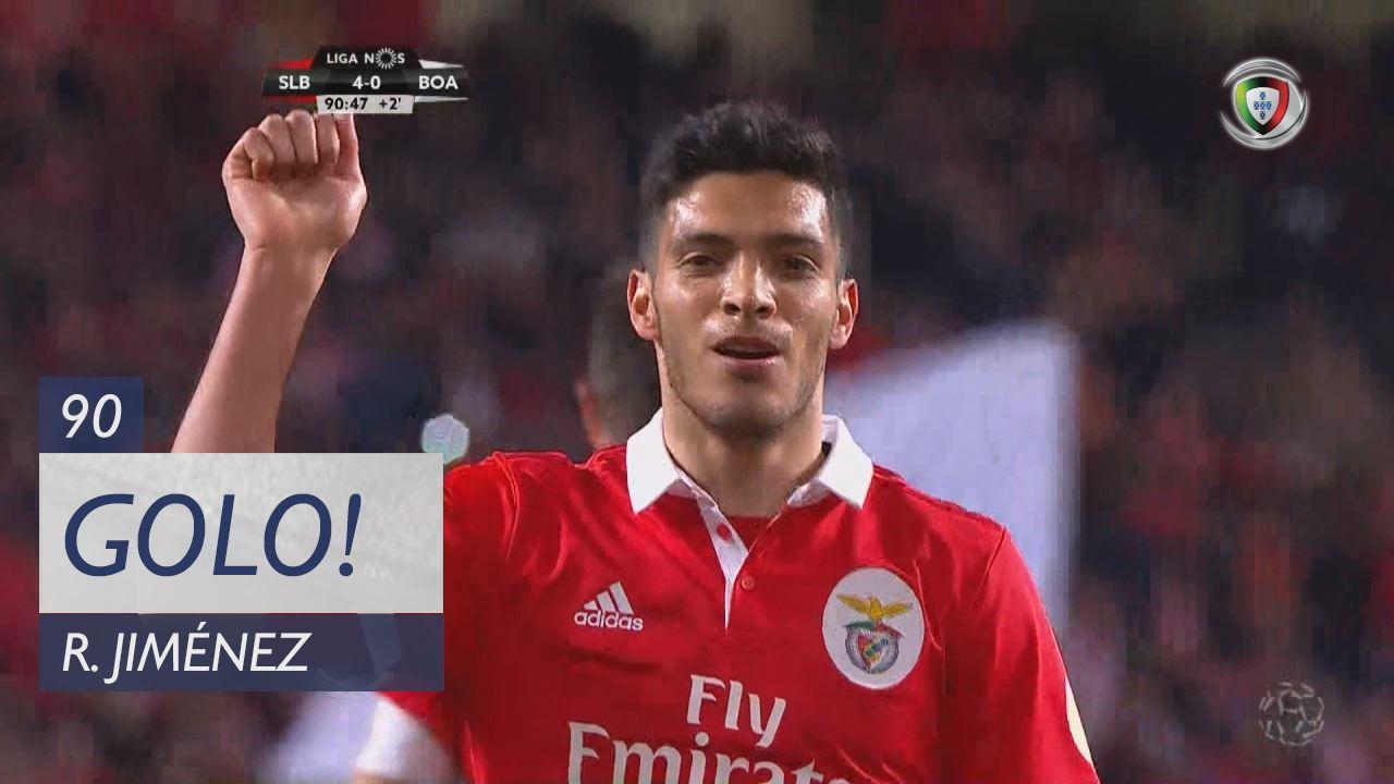 SL Benfica, R. Jiménez aos 90', SL Benfica 4-0 Boavista FC