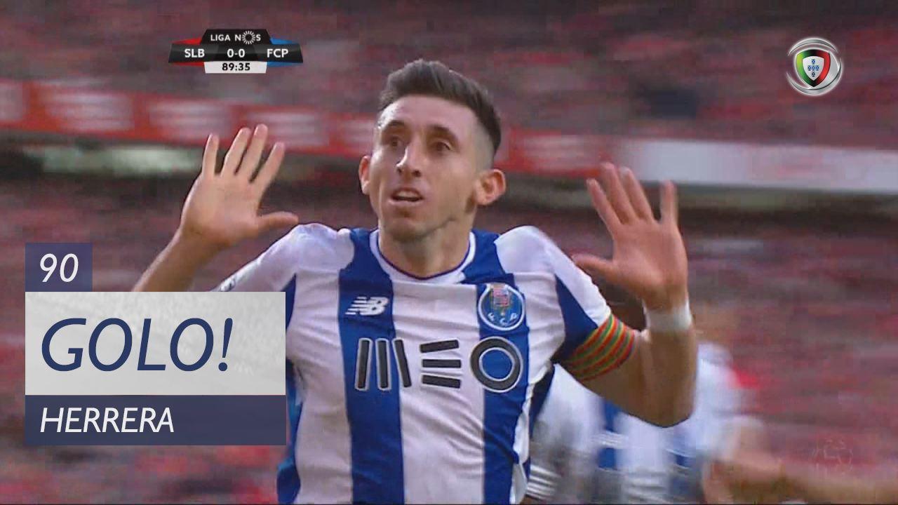 GOLO! FC Porto, Herrera aos 90', SL Benfica 0-1 FC Porto