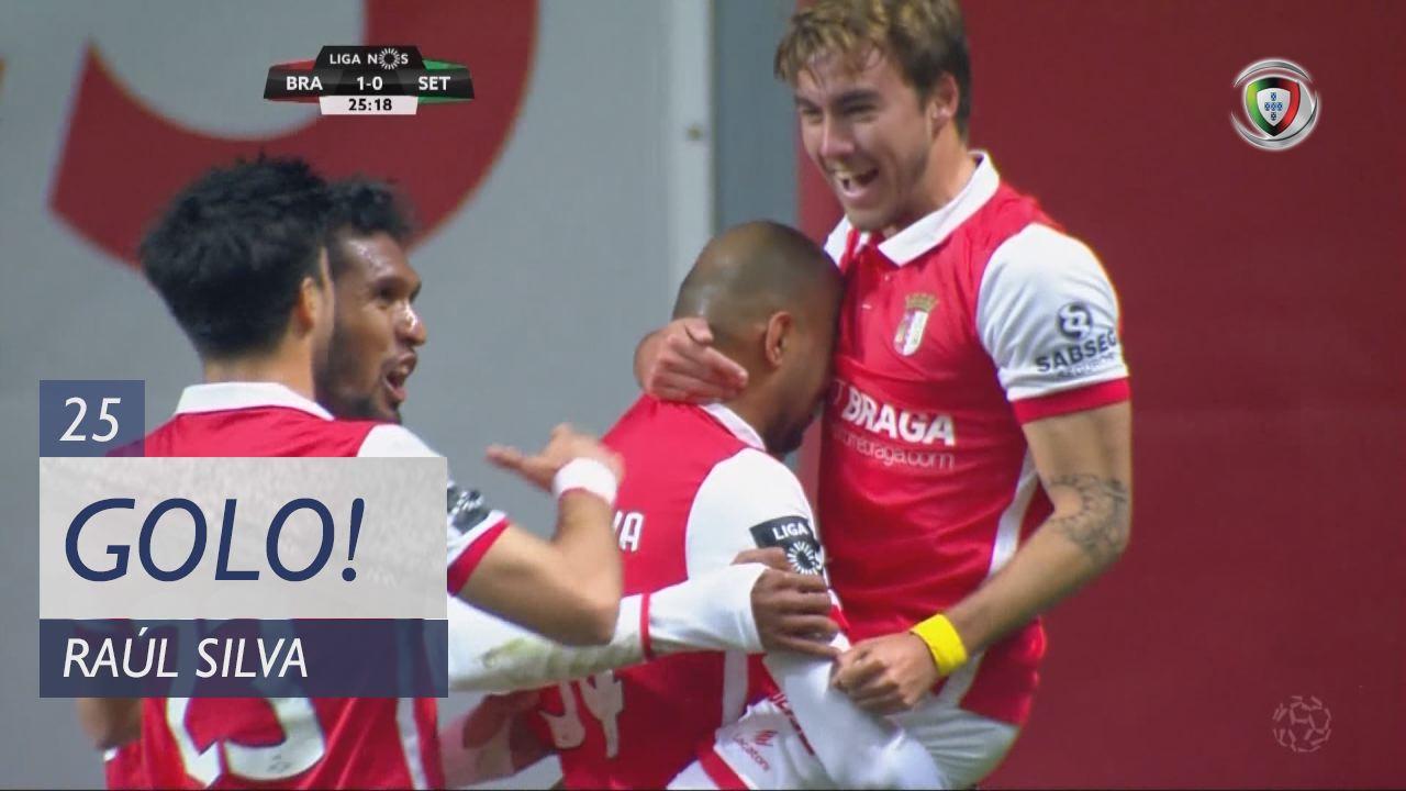 SC Braga, Raúl Silva aos 25', SC Braga 1-0 Vitória FC