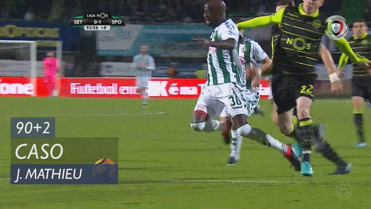 Sporting CP, Caso, J. Mathieu aos 90'+2'