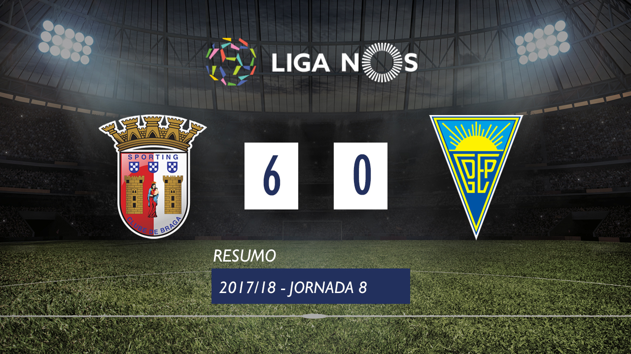 Braga Estoril goals and highlights