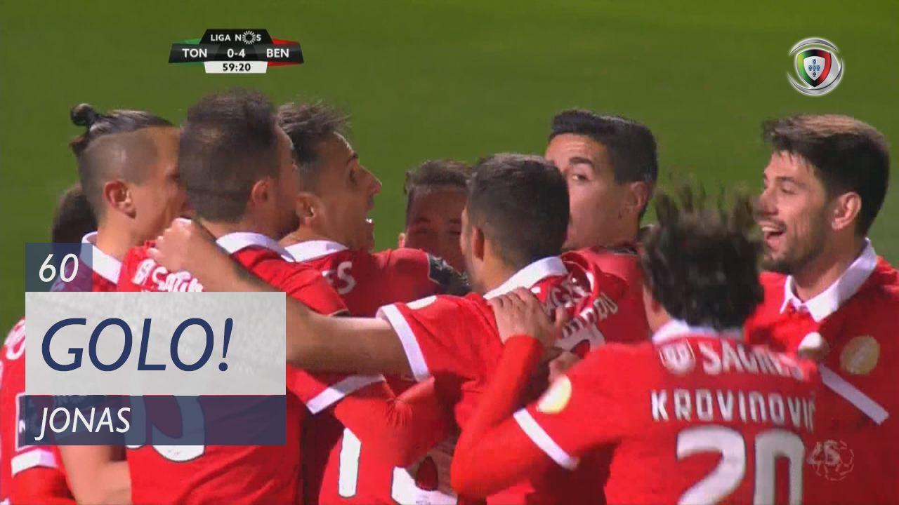 SL Benfica, Jonas aos 60', CD Tondela 0-4 SL Benfica
