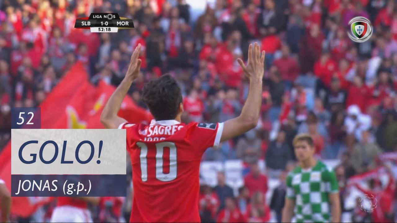 GOLO! SL Benfica, Jonas aos 52', SL Benfica 1-0 Moreirense FC